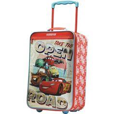 "American Tourister - Disney Cars 18"" Wheeled Softside Upright Suitcase"