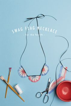 Swag Flag necklace -...