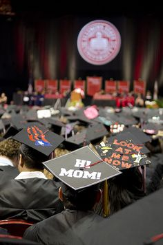 Commencement 2012 at Illinois State University. Congratulations Redbirds. http://IllinoisState.edu