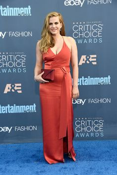 Anna Chlumsky | All The Red Carpet Looks From The 2016 Critics' Choice Awards