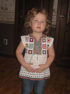 Crochet Baby Jacket, Baby Girl Crochet, Crochet Baby Clothes, Crochet Cardigan, Crochet For Kids, Crochet Baby Dress Pattern, Baby Dress Patterns, Granny Square Crochet Pattern, Crochet Lace