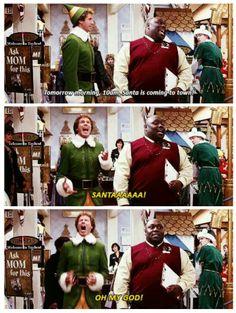 We love the movie Elf