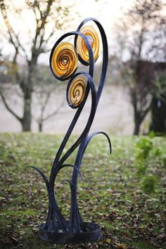 Statue de forme végétale ©Artparks.co.uk
