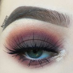 anastasia beverly hills modern renaissance palette look, a super gorgeous look from a super hot palette
