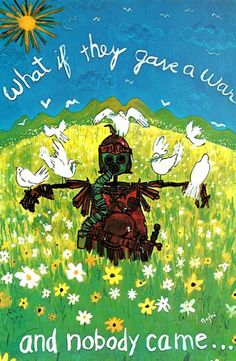 ☮ American Hippie ☮ No War seriously no one showed up because we all started thinking for ourselves. Peace On Earth, World Peace, Give Peace A Chance, Age Of Aquarius, War Image, Hippie Peace, Vietnam War, Woodstock, Peace And Love