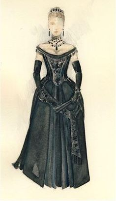 PCS Blog - Dancing with Anna - Portland Center Stage  ballgown costume for Anna