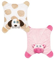 """Tiny Tillia Cuddle Mat- plush 27"""" L x 23"""" W mat boasts built-in cushion for tummy-time propping and playtime snuggling. Polyester. Machine wash. Imported. Shop online at tashina.avonrepresentative.com"""