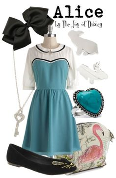 Outfit inspired by Alice in Wonderland!