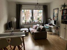 Living Room Furniture Arrangement, Small Living, Diy Furniture, Fireplace Furniture, Home Furnishings, Family Room, Sweet Home, Interior Design, House