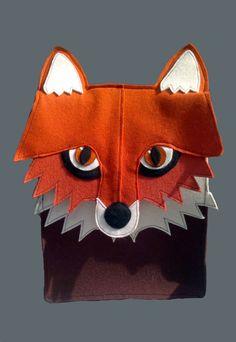 Kettukassi tiivistä villahuopaa  Fox bag