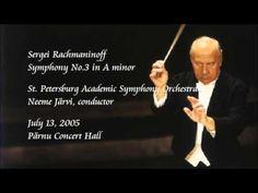 Rachmaninoff: Symphony No.3 in A minor - N. Järvi / Saint Petersburg Academic Symphony Orchestra - YouTube