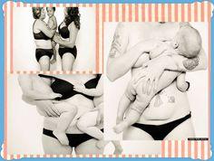 Photographer Ashlee Wells Jackson with her baby.