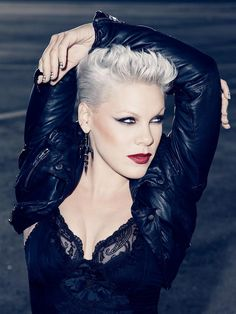 PINK is Phenomenal...for being just herself!! P!NK makeup billy b