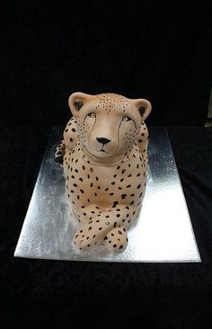 cheetah cake by The House of Cakes Dubai, via Flickr