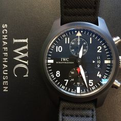 How about the 'Top Gun' Chrono? http://www.globalwatchshop.co.uk/iwc-pilots-watch-chrono-top-gun-iw388001-452.html?utm_content=buffer957bd&utm_medium=social&utm_source=pinterest.com&utm_campaign=buffer Available now - DM for details #IWC