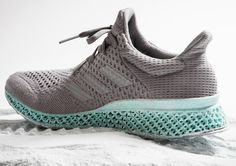 Adidas Made a Printed Shoe Out of Plastic Waste From the Ocean