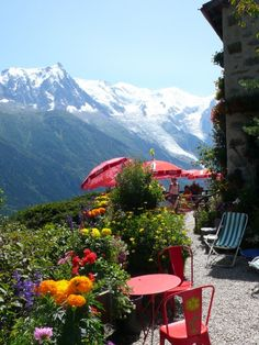 Beautiful Chalet Floria, 45 minutes walk above Chamonix, more hikes here:  http://www.chaletlaforet.com/summer-in-chamonix/hiking-in-chamonix
