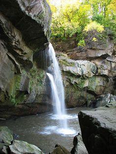 Cascade Falls at Cascade Park; Elyria, OH