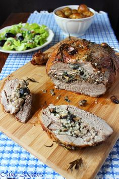 Stuffed Leg of Lamb