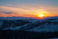 A sunset moment