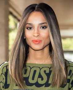 22 Neueste hervorgehobene Ideen für schwarzes Haar Ombre Hair ombre for black hair dark skin Black Hair With Highlights, Hair Color Highlights, Caramel Highlights, Curly Hair Styles, Natural Hair Styles, Summer Hairstyles, Straight Hairstyles, Hairstyles 2018, Asymmetrical Hairstyles