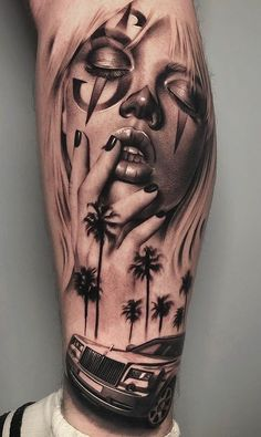 Full hand tattoo for man and woman – tattoo sleeve men Gangster Tattoos, Dope Tattoos, Badass Tattoos, Mini Tattoos, Body Art Tattoos, Chicano Tattoos Gangsters, Chicanas Tattoo, Hanya Tattoo, Clown Tattoo