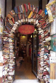 A bookstore in Lyon, le Bal des Ardents
