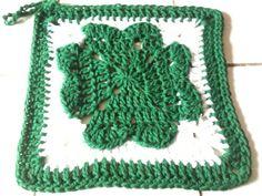 Craft Attic Resources: Shamrock Crochet Dishcloth