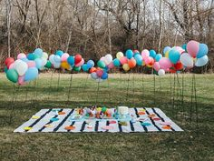 Here's a way to add a whole lot of fun and colour to your next park-based shindig.