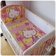 Promotion! 5PCS 3D Breathable Mesh Baby Bedding kit bedding/Cot bedding set bedding Bed set,include(4bumpers+sheet)