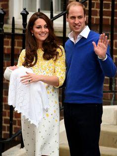 Kate Middleton & Prins William met hun pasgeboren dochter   ELLE