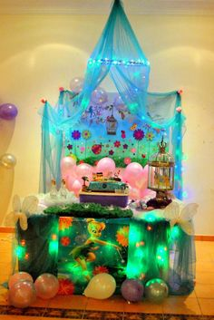 Neverland Themed Pirate and Fairy Party