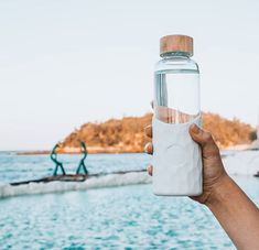 Stay hydrated with this our super cute Stone colour water bottle 💦 Hydration Bottle, Stay Hydrated, Glass Bottles, Water Bottle, Super Cute, Colour, Stone, Drinks, Nature