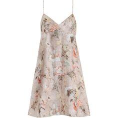 ZIMMERMANN Bowerbird Sun Dress (4,285 MXN) ❤ liked on Polyvore featuring dresses, vestidos, floral dresses, zimmermann dress, flower printed dress, flower print dress and sundress dresses