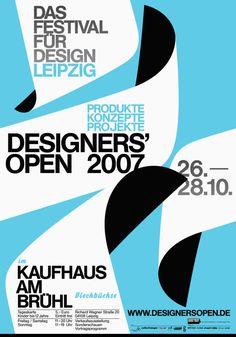 Lamm & Kirch, Designers Open 2007 Festival for Design Leipzig, 2007