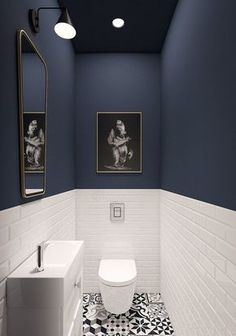 93 Cool Black And White Bathroom Design Ideas oneonroom - Wohnkultur // Badezimmer im Erdgeschoss - Bathroom Decor White Bathroom Designs, Shower Room, Bathroom Decor, Black Bathroom, Amazing Bathrooms, House Bathroom, Interior, Bathrooms Remodel, Downstairs Bathroom