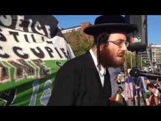 "Manchester Rabbi for Gaza I "" But the Zionists did not steal only Palestine, they stole the Jewish identity, the Jewish name, the holy name of Israel. They don't represent Jewish people and let me add they don't represent humans at all."""