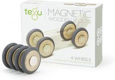 Tegu Accessories - Wheel Pack 4