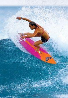 Love, love, love this surfer girl!! Carissa Moore...
