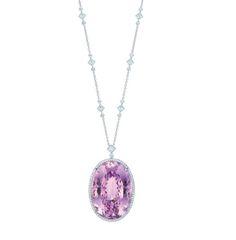 Tiffany and Co. Kunzite Necklace