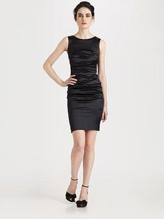 S l fashions black dress quote