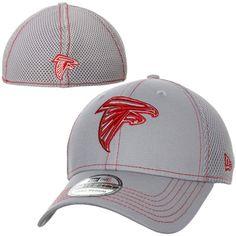 d77ff0fb New Era Atlanta Falcons NFL Neo 39THIRTY Flex Hat - Ash