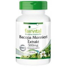 COMPRAR BACOPA 90 CAPS EXTRACTO  500 MG FAIRVITAL 82,6 BACOSIDE