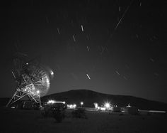 First Pass of Echo 1 Satellite Over the Goldstone Tracking Station #NASA #ImageoftheDay