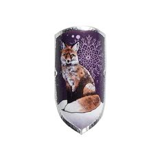 Stockwappen zum Kleben mit neuem Design von Satya Ink aka Rotfuchs, sie ist ein Tattoo-Artist aus Tirol. Shot Glass, Design, Red Fox, First Tattoo, Crests, Shot Glasses