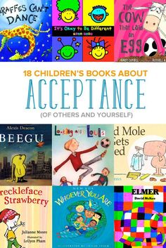 Looking for children's books about diversity? We're all different, from appearance to abilities to our backgrounds. Kids especially need to learn to accept and embrace our differences. These 18 picture books about acceptance show your kids how to accept a Read Aloud Books, Children's Books, Social Emotional Learning, Social Skills, Social Work, Big Ben, Children's Picture Books, Character Education, Children's Literature