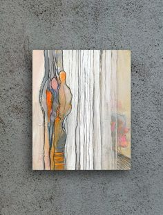 Acrylic Painting Abstract Small Painting Woman Painting