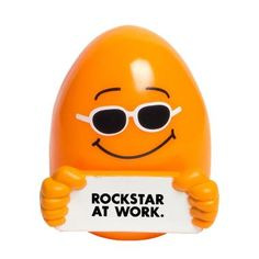 Rockstar at Work Stress Reliever Reward great behavior in the workplace with this squeezable dude. Whether for a job a well done or as a thank you, stress relievers are a great business gift! Ships In: 0 business days Best Workplace, Employee Appreciation Gifts, Staff Gifts, Motivational Gifts, Work Stress, Business Gifts, Corporate Gifts, How To Relieve Stress, Holiday Fun