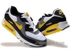 http://www.jordanse.com/nike-air-max-90-mens-yellow-black-white-gray.html NIKE AIR MAX 90 MENS YELLOW BLACK WHITE GRAY Only 79.00€ , Free Shipping!