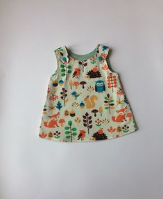 Your place to buy and sell all things handmade Organic Baby, Organic Cotton, Girls Pinafore Dress, Tie Dye Designs, Girls Dresses, Summer Dresses, Dress Making, Baby Girls, Floral Tops